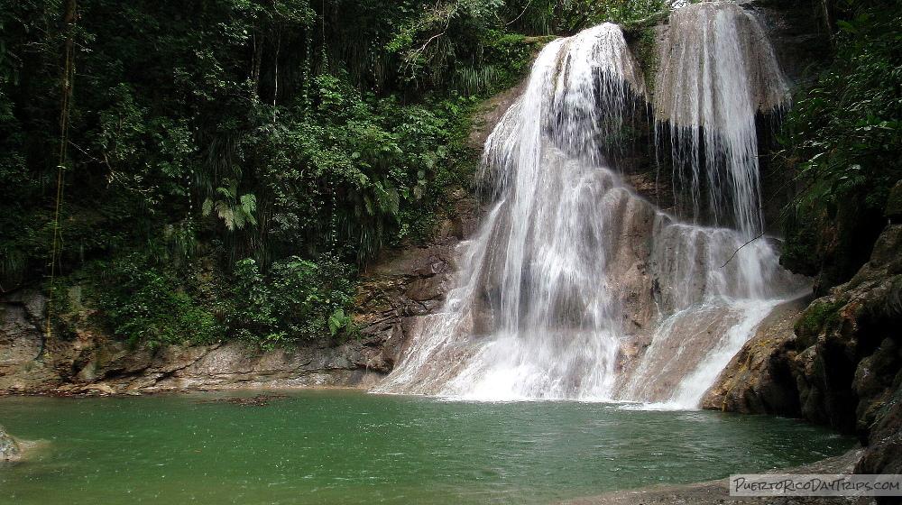 Gozalandia / Las Cataratas Waterfall in San Sebastian   Puerto Rico ...