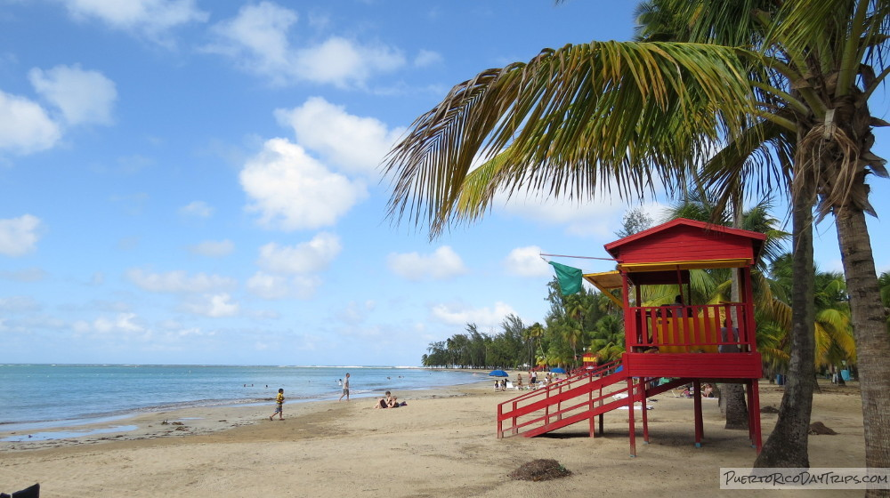 A Day At The Beach In Luquillo Monserrate Balneario