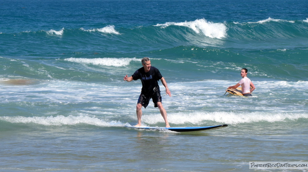 Surfing Lessons With Bob Roberts In Luquillo