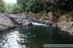 Charco Frio and Las Tinajas