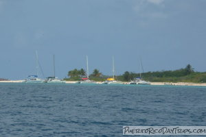 Catamarans at Icacos