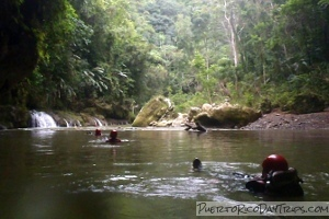 Tanama River Body Rafting