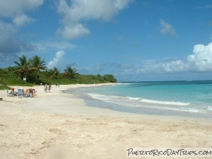 Flamenco Beach On Culebra Island