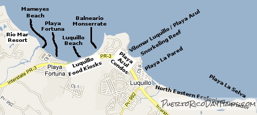 Beaches in Luquillo