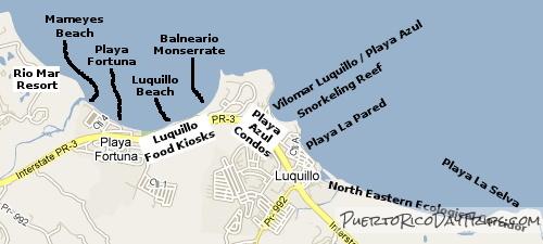 Beaches In Luquillo