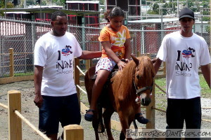 Pony Rides at Moisty Skate Park in Caguas