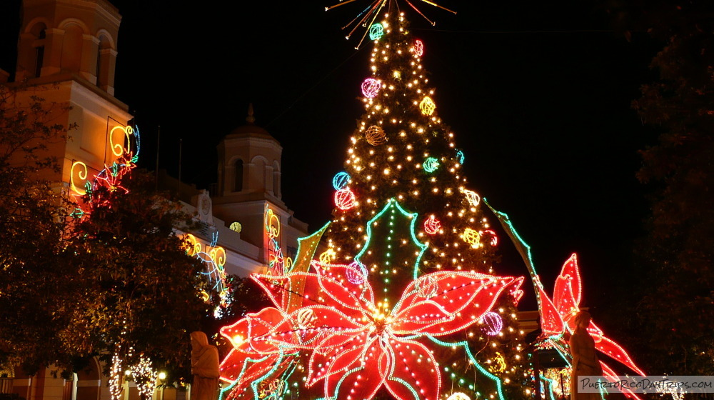 november 8 to 30 lighting of christmas decorations - Puerto Rican Christmas Decorations