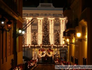 Christmas Lights on La Fortaleza