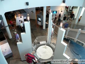 Exhibits at the Arecibo Observatory