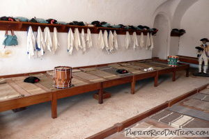 Living Quarters at Fort San Cristobal