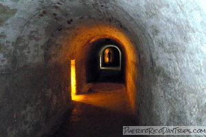 Tunnels at Fort San Cristobal