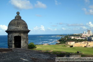 Garita at Fort San Cristobal