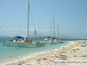 Snorkel Boats at Icacos