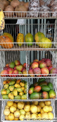 Fresh Fruit in Puerto Rico