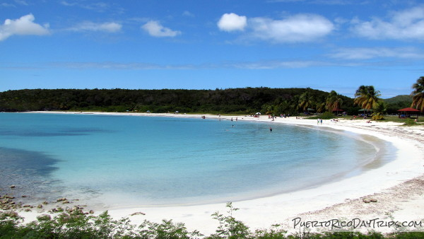 Playa Caracas Red Beach Vieques