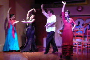 Flamenco Dance Show at Barrachina in Old San Juan