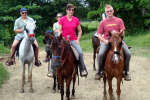 Horseback Riding at Carabali Rainforest Park