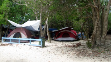 Culebra Camping at Flamenco Beach