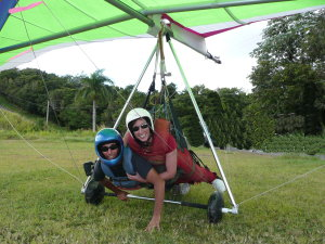 Hang gliding in Puerto Rico