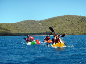 Kayaking at Luis Pena Nature Reserve on Culebra