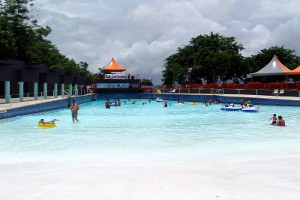 Wave Pool at Moisty Skate Park in Caguas