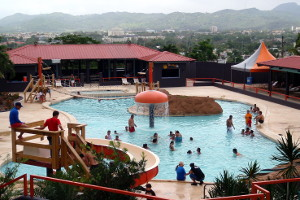 Pool at Moisty Skate Park in Caguas