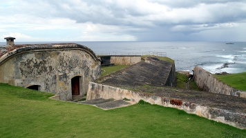 Outworks Tour at Fort San Cristobal