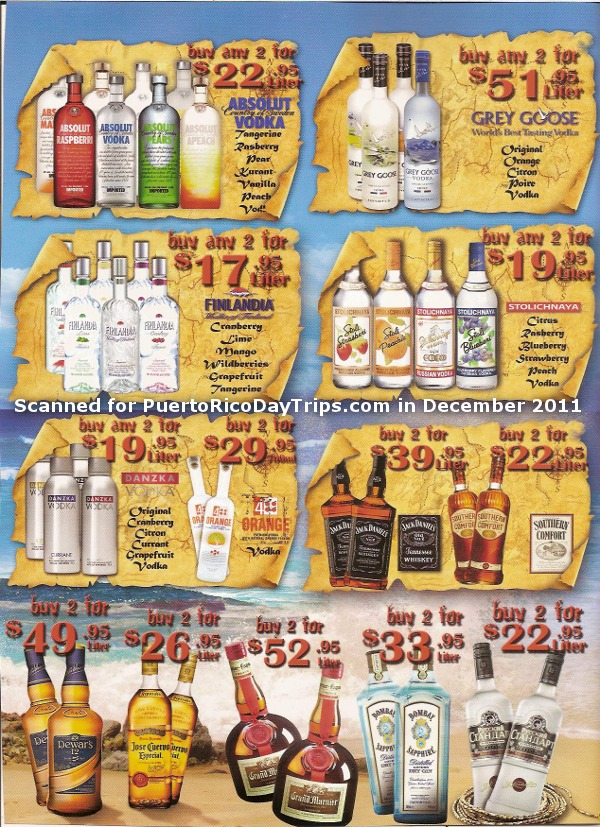 San Juan Port Cruise Pier Duty Free Prices Ad