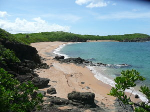 Playa Colora in Fajardo