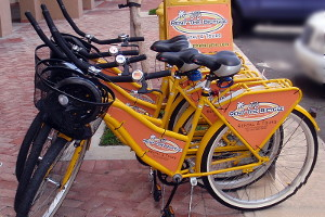 Rent The Bicycle in Old San Juan