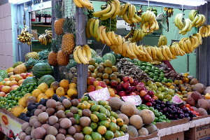 Fruit and Vegetables at the Rio Piedras Market