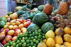 Fruit at the Rio Piedras Market