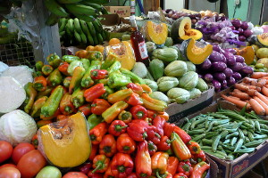 Vegetables at the Rio Piedras Market