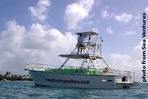Sea Ventures dive boat