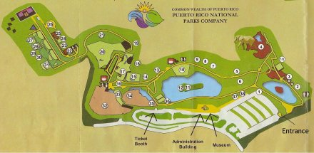 Mayaguez Zoo Map